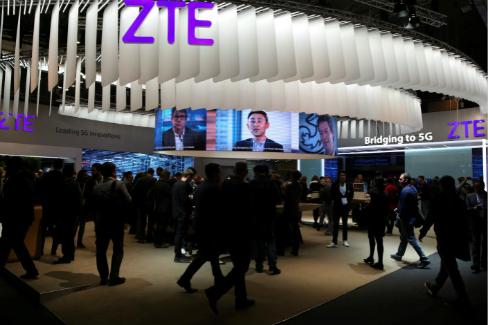 ZTE Asks for Stay of US Ban on Selling to Company