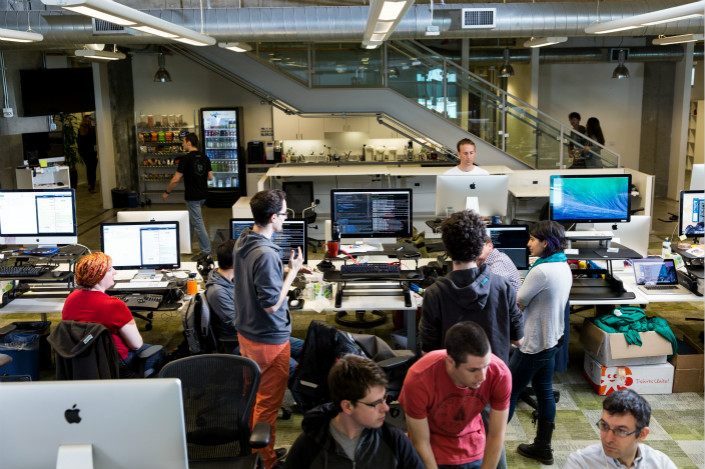 The California headquarters of Pivotal Software is seen. Photo: Pivotal Software