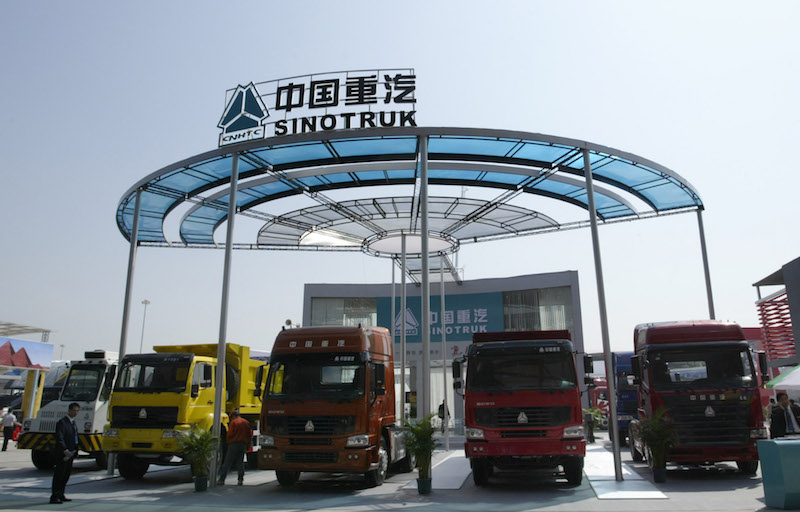 Sinotruk has dropped its plan to raise its stake in UQM to 34% after U.S. regulators raised objections. Photo: VCG