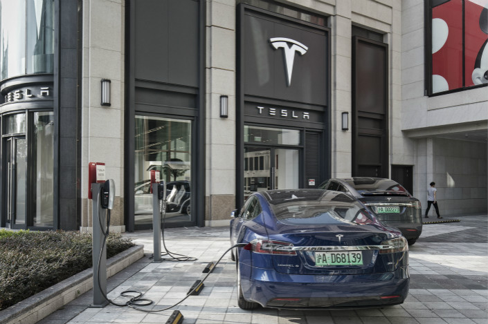 Tesla registers wholly-owned China business in Shanghai