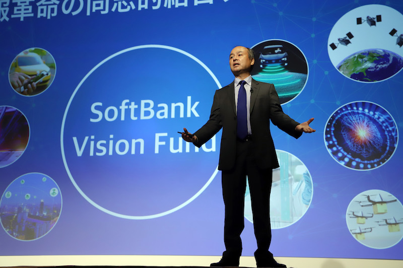 Masayoshi Son, the CEO of SoftBank Group Corp. is known for his risk-loving unicorn hunting. Photo: VCG