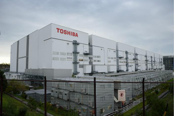 Toshiba Memory Corp.'s plant in Yokkaichi, Japan. Photo: VCG