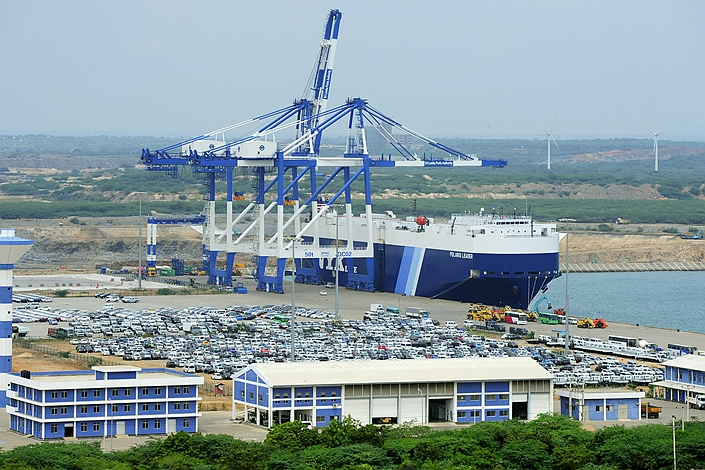 Sri Lanka's Hambantota port. Photo: VCG