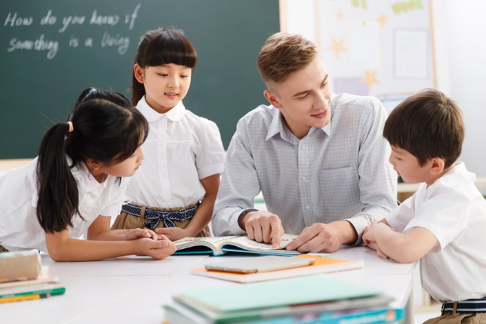 VIPKid CEO Cindy Mi said the money raised in the latest fundraising will be used to improve students' learning experience, enlarge the tutor team and make use of machine learning. Photo: VCG