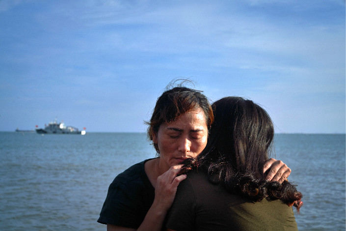 Lin Aizhen (left) and Chen Shufen were both sold by their parents when they were little. But while Lin was beloved at her adopted home, Chen was bought by her adopted parents as a child bride and was forced to marry her adopted brother, who is mentally disabled. The pair have become friends over their shared roots as unwanted girls.