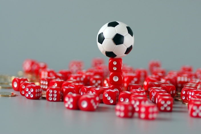 Several online soccer lottery platforms have suspended operations in recent
