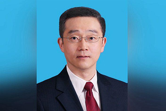 Hu Haifeng, the 45-year-old son of former Chinese president, Hu Jintao. Photo: Xinhua