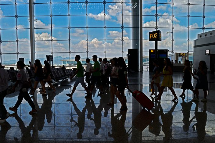 Terminal T3 of Chongqing Jiangbei International Airport is seen in July 2017. Photo: VCG