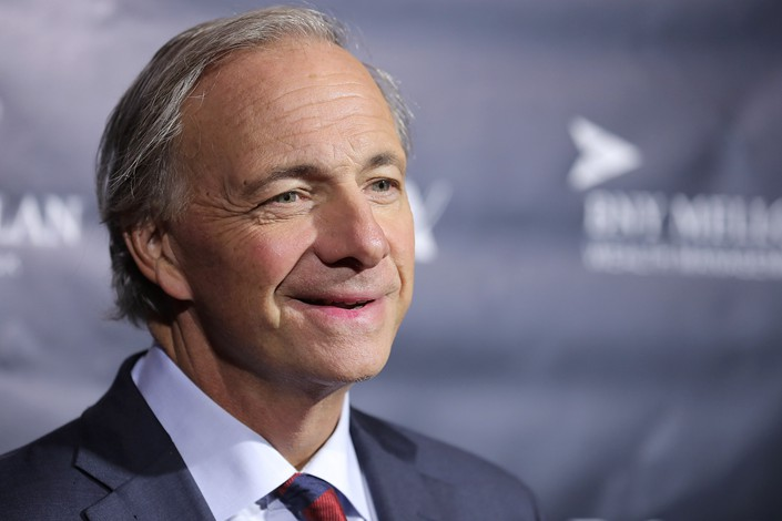 Bridgewater Associates founder Ray Dalio. Photo: VCG