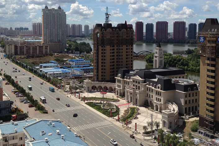 Downtown Qiqihar, Northeast China's Heilongjiang province on June 23. Photo: IC