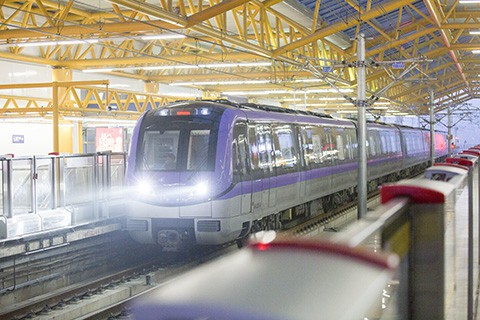 Chinese cities must meet tougher new financial benchmarks to get permission to build subway and light rail systems. Photo: VCG