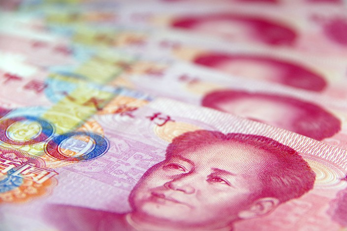 While the amount of global trade settled in the yuan was down to 1.79% last year, the currency's share of international financing in the form of direct investment, global credit, bonds and notes hit a record high of 6.51%.  Photo: VCG