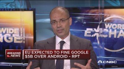 欧盟对谷歌开罚43亿欧元 数据保护战无声拉响?