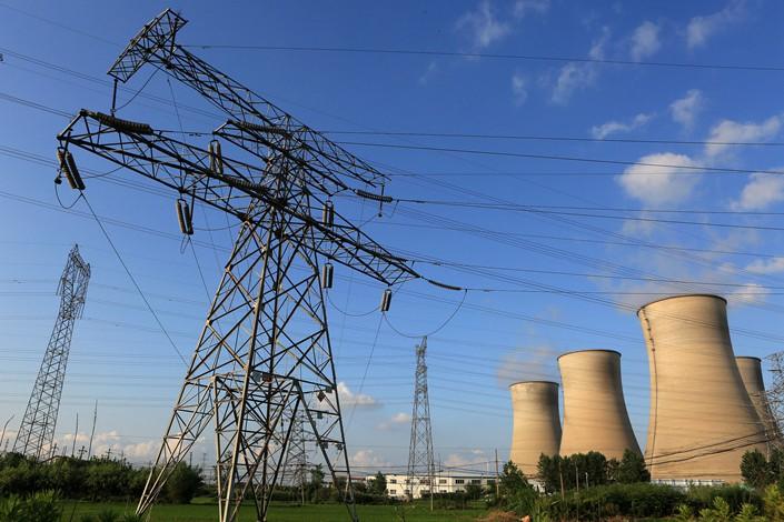 The Huaineng power plant is seen in Huaian, Jiangsu province, on July 16. Photo: VCG
