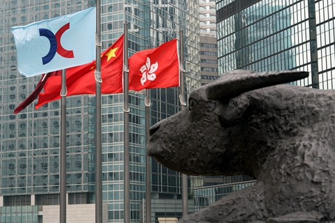Hong Kong Exchanges and Clearing Ltd. in April allowed companies with weighted voting rights to list in a major change of its rules. Photo: VCG
