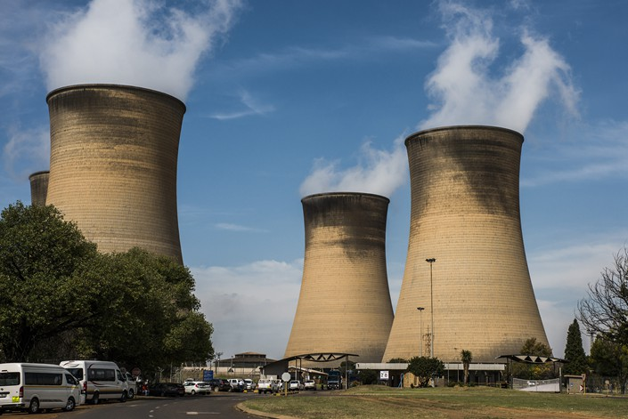 The Hendrina Power Station, in Mpumalanga, South Africa, is operated by Eskom Holdings SOC Ltd. Photo: VCG
