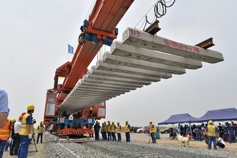 The State Council recently unveiled a package of pro-growth policies, including a 1.35 trillion yuan spending plan for local government infrastructure projects. Photo: VCG