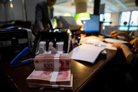Chinese banks extended more loans in July as regulators encourage credit support to the economy. Photo: VCG
