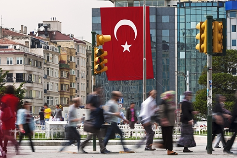 The IMF projected Turkey's economic growth to slow to 4% this year from 7% last year. Photo: VCG