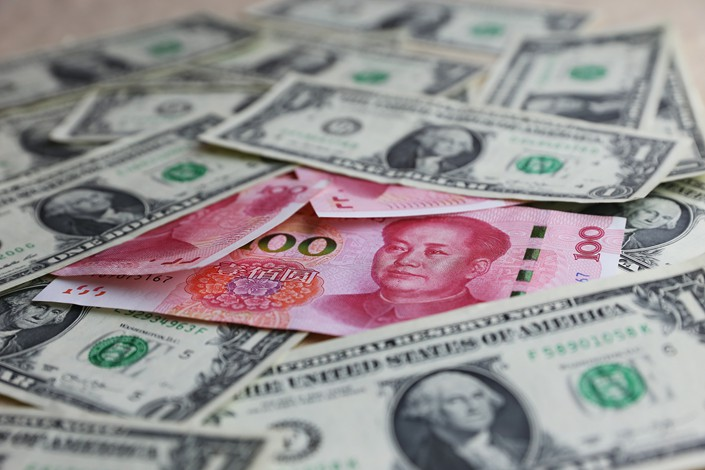 China's current-account and non-reserve financial-account surpluses stood at $5.8 billion and $18.2 billion respectively in the second quarter of 2018. Photo: VCG