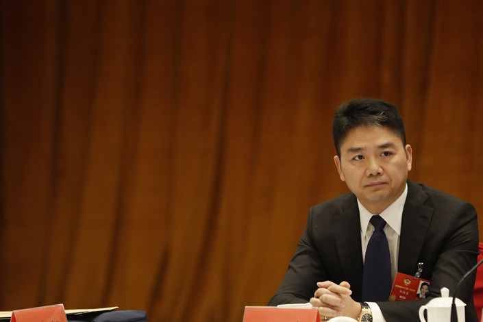 JD.com CEO Liu Qiangdong. Photo: VCG