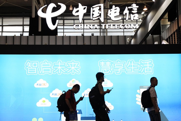 China considers merger of Unicom, China Telecom