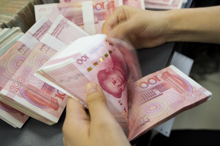 Industrial and Commercial Bank of China originally planned to reduce its new lending in 2018 to 900 billion yuan, however it now plans to increase it to 1 trillion yuan. Photo: VCG