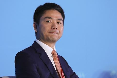 JD.com CEO Richard Liu. Photo: VCG