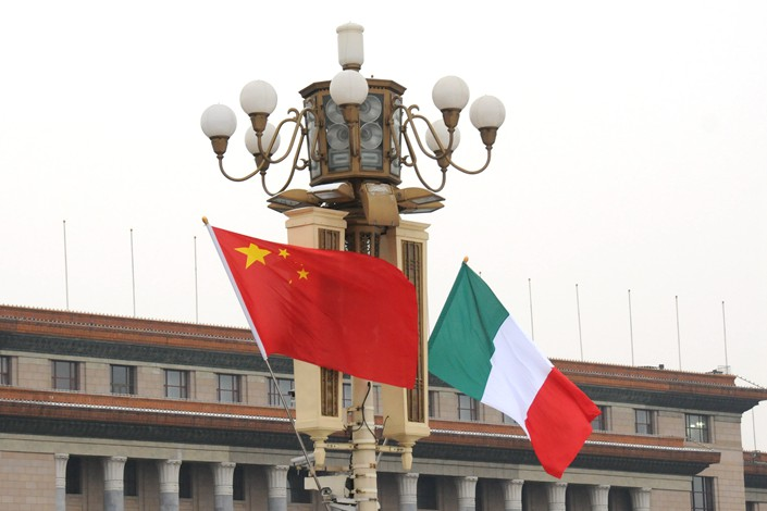 "Michele Geraci, Italy's undersecretary of state for economic development, said Italy wants ""to be the leader in Europe in the relationship with China."" Photo: VCG"