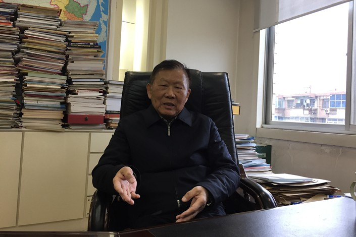 Wang Mengshu, a renowned academician at the prestigious state-backed Chinese Academy of Engineering, died Thursday at age 80. Photo: VCG