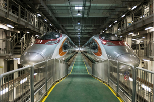 Hong Kong Opens High-Speed Rail Link to Mainland