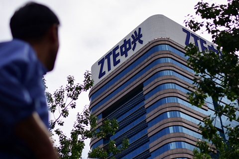 ZTE was slapped with a $1.4 billion fine by U.S. authorities to end a crippling business ban. Photo: VCG