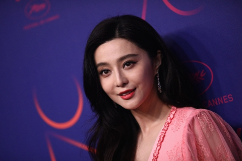 Fan Bingbing was fined 884 million yuan for tax evasion. Photo: VCG