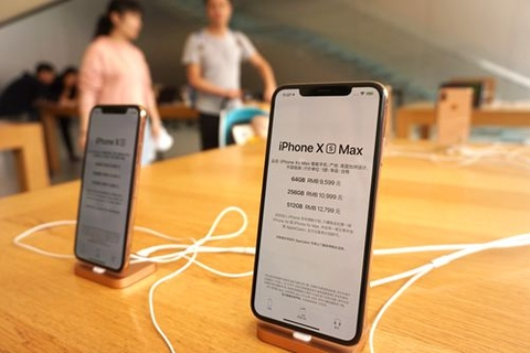 The iPhone XS series has been available for Chinese customers since Sept. 21. Photo: VCG