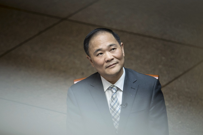 Li Shufu. Photo: Bloomberg