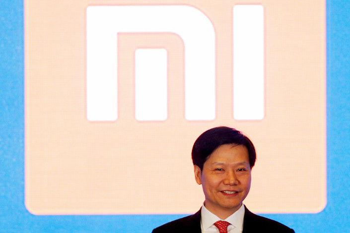 Xiaomi CEO Lei Jun attends a news conference in Hong Kong on June 23. Photo: VCG