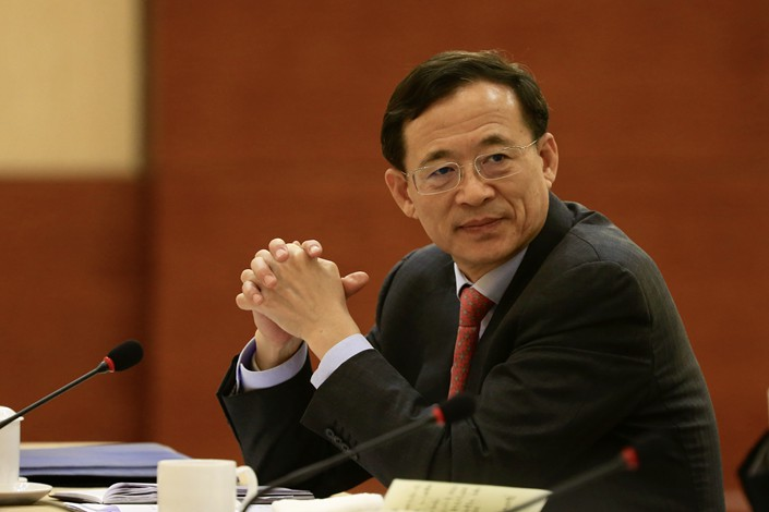 China Securities Regulatory Commission Chairman Liu Shiyu. Photo: VCG