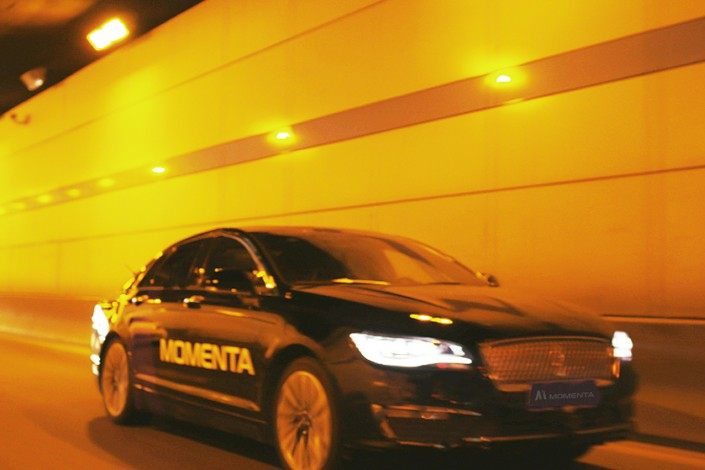 Momenta develops software in the areas of mapping and path planning, which are critical for autonomous driving. Photo: Momenta