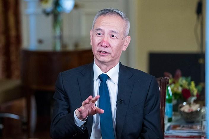 China's Vice Premier Liu He. Photo: Xinhua