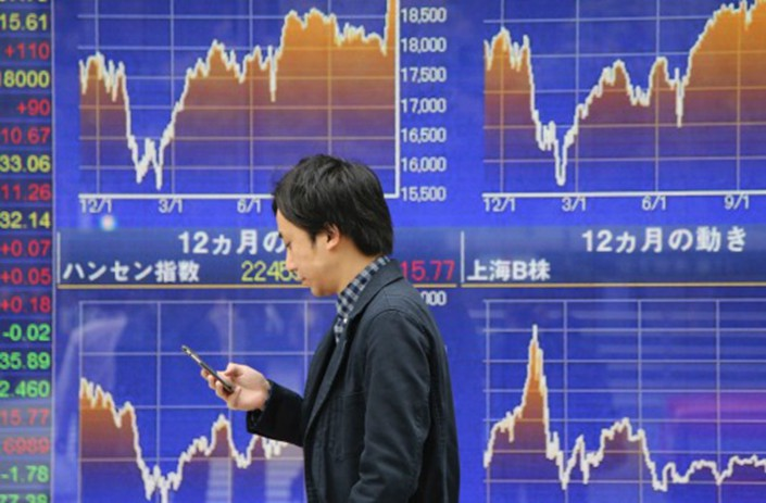 The Chinese stock markets are notoriously volatile. Photo: AP