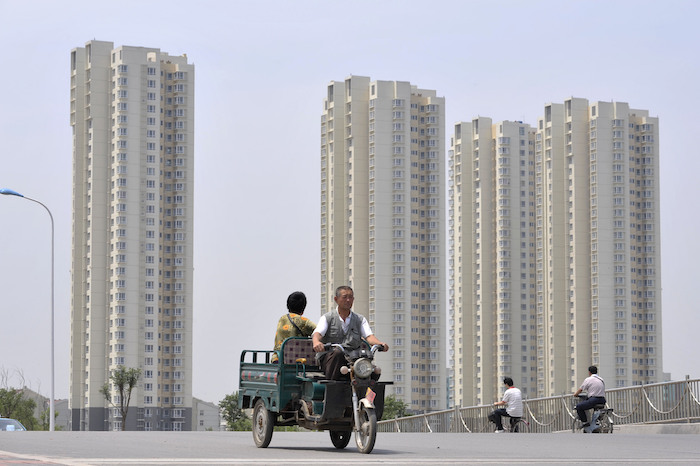 Tianjin's real estate market cools amid curbs on property speculation. Photo: VCG