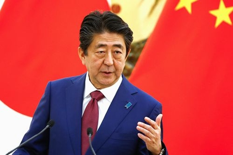Japanese Prime Minister Shinzo Abe pays the first visit in China in seven years between Oct. 25 and 27, 2018. Photo: VCG