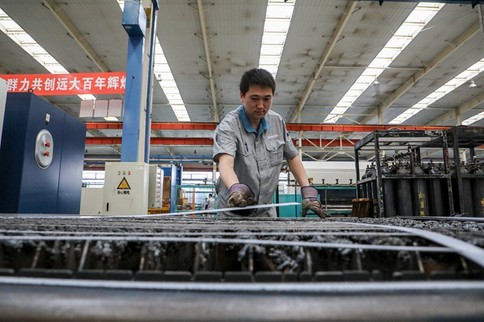 Private businesses account for 50% of China's tax revenue, 60% of gross domestic product and 80% of urban employment.