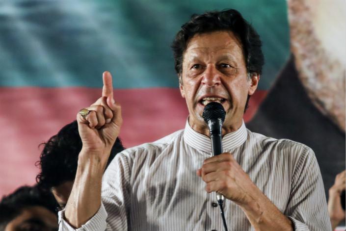 Pakistan Prime Minister Imran Khan. Photo: Bloomberg
