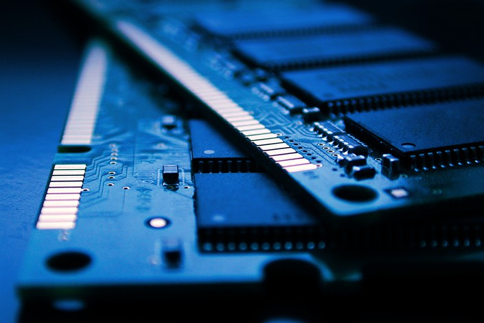 """Fujian Jinhua Integrated Circuit Co. Ltd. said over the weekend that it """"has never acted to steal another firm's technology."""" Photo: VCG"""