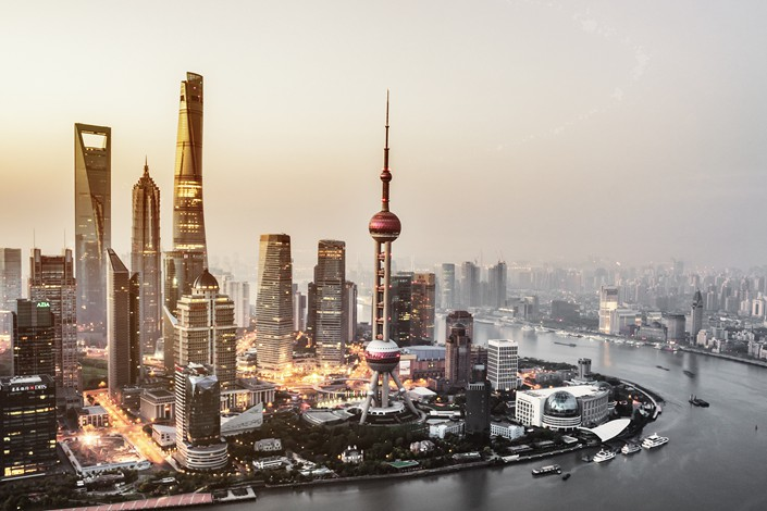 Shanghai has become a world economic powerhouse after China's reform and opening-up began 40 years ago.Photo: VCG
