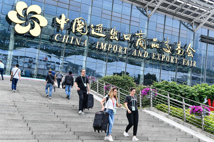 The 124th China Import and Export Fair in Guangzhou, Guangdong province, ended on Sunday. Photo: VCG