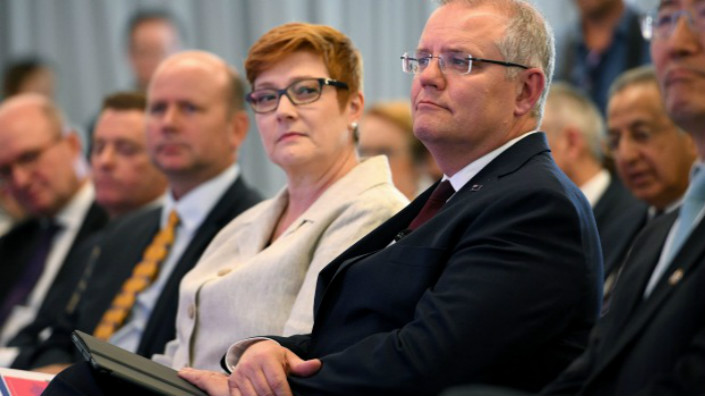 Australia Foreign Minister Marise Payne. Photo: Dan Himbrechts