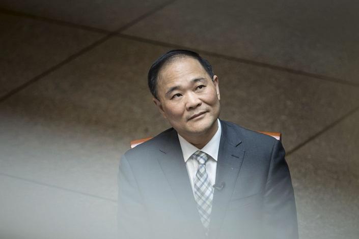 Li Shufu Photographer: Qilai Shen/Bloomberg