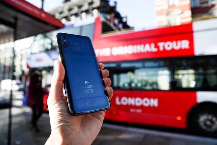 Mi 8 Pro arrives in London. Photo: Xiaomi